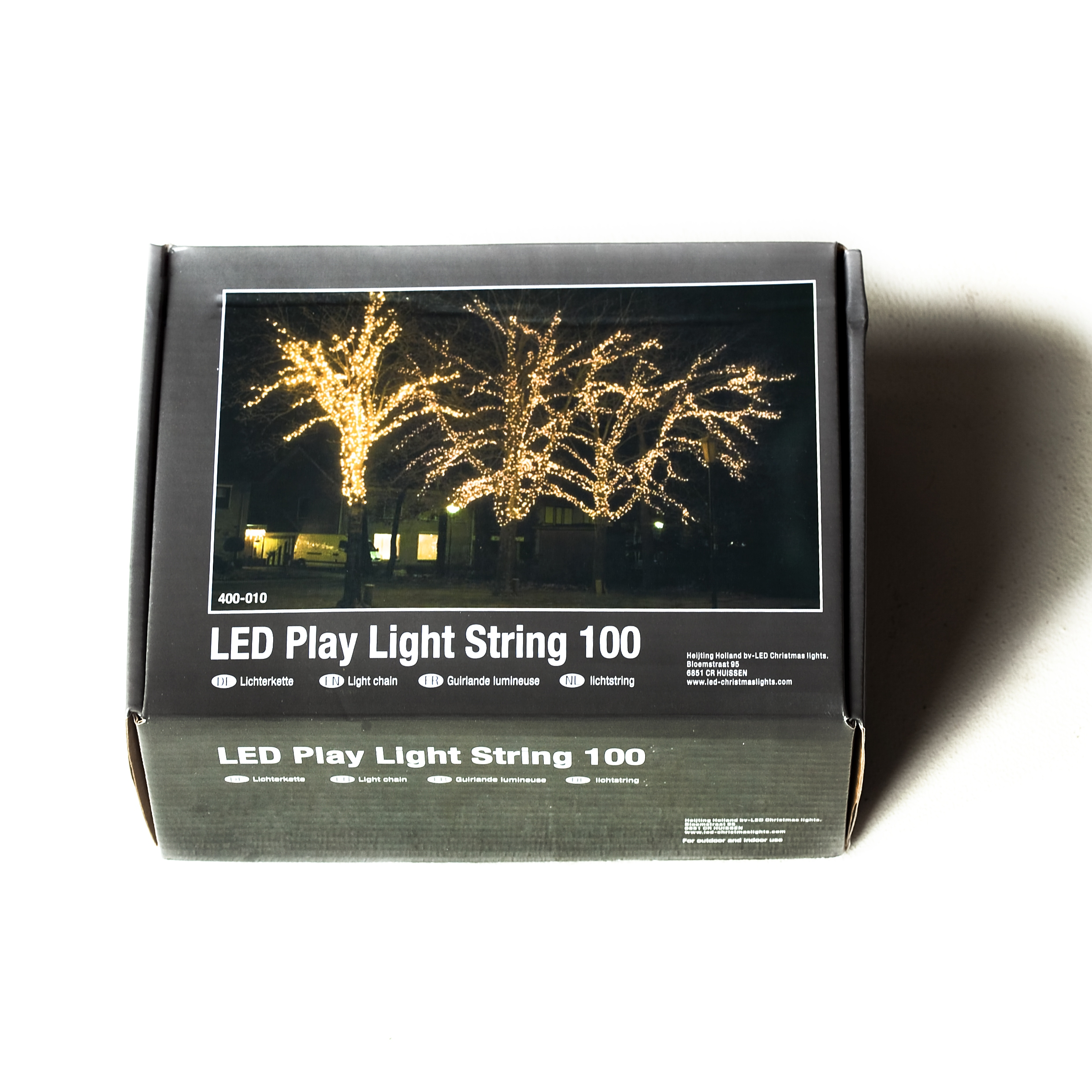 12 Volt Kerstverlichting Stringlights Led 100 Lamps 8 Meter Koppelbaar Ip 44