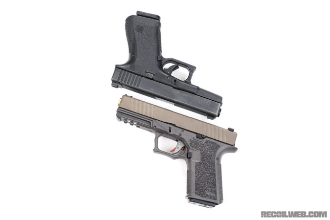 Polymer80 Compact Long Slide Recoil