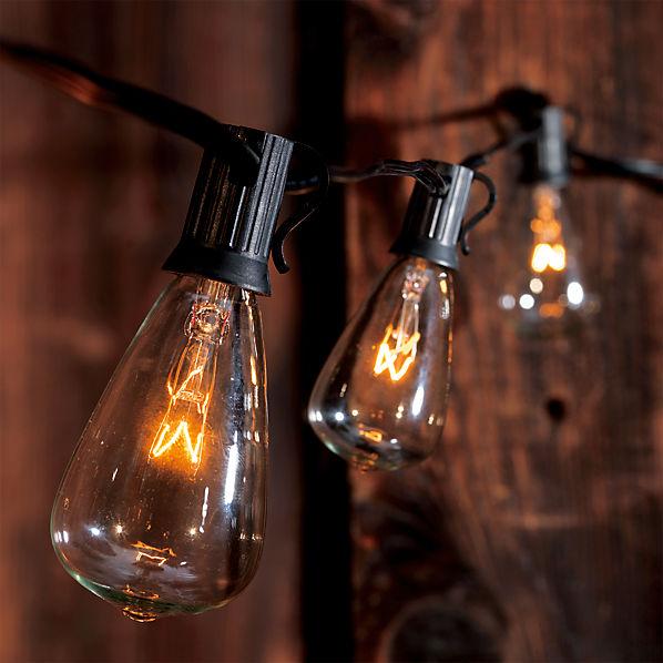 Outdoor String Lights Edison Innovation Pixelmaricom