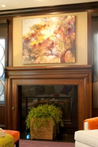 Vibrant Transitional Family Home Family Room Robeson ...