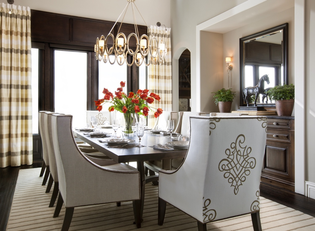 Luxurious Dining Rooms Hamptons Inspired Luxury Dining Room 1 Before And After