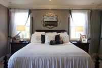 Stylish Transitional Master Bedroom Before and After ...