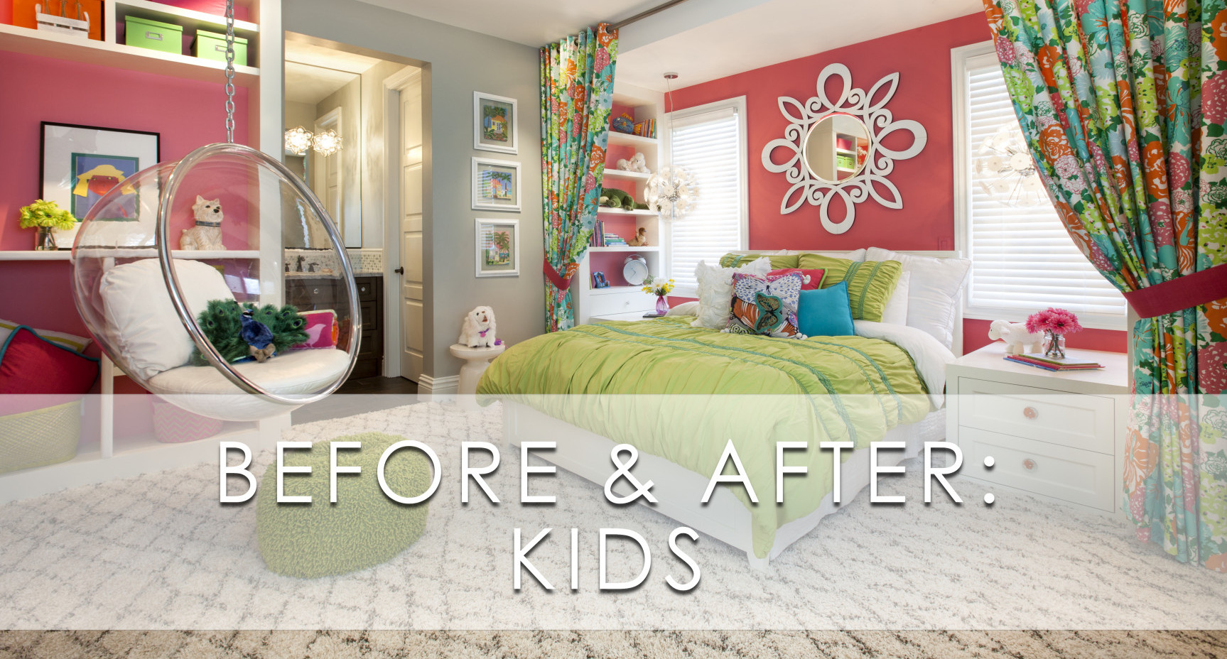 Pictures Of Kids Bedrooms Hamptons Inspired Luxury Kids Girls Bedroom Before And