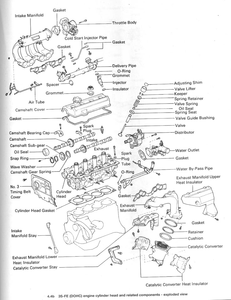 toyota 5sfe engine diagram