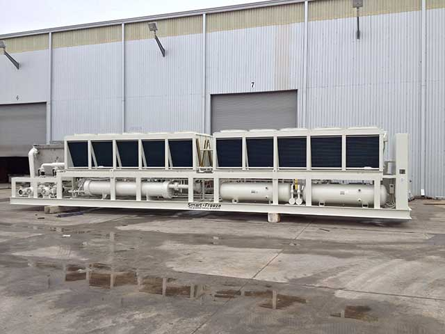 Low Temperature Industrial Cooling Chillers Smart Cooling Products