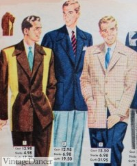 Men's 1950s Clothing History: Casual Fashion