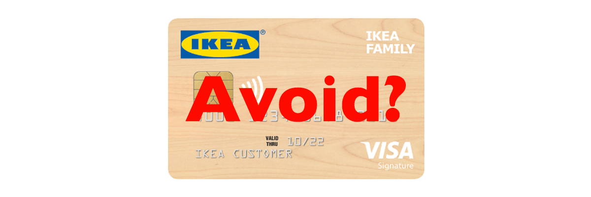 Ikea Business Card Avoid The Ikea Visa Credit Card, Unless You Love Eating