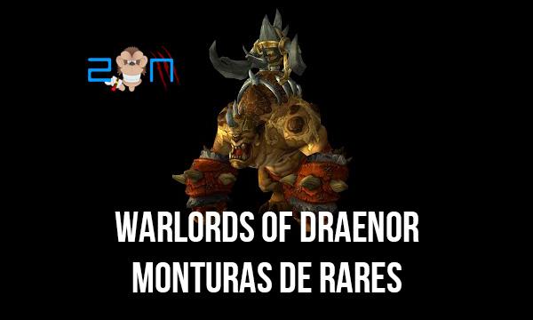 Las 7 Monturas de Mobs Rares en Warlords of Draenor