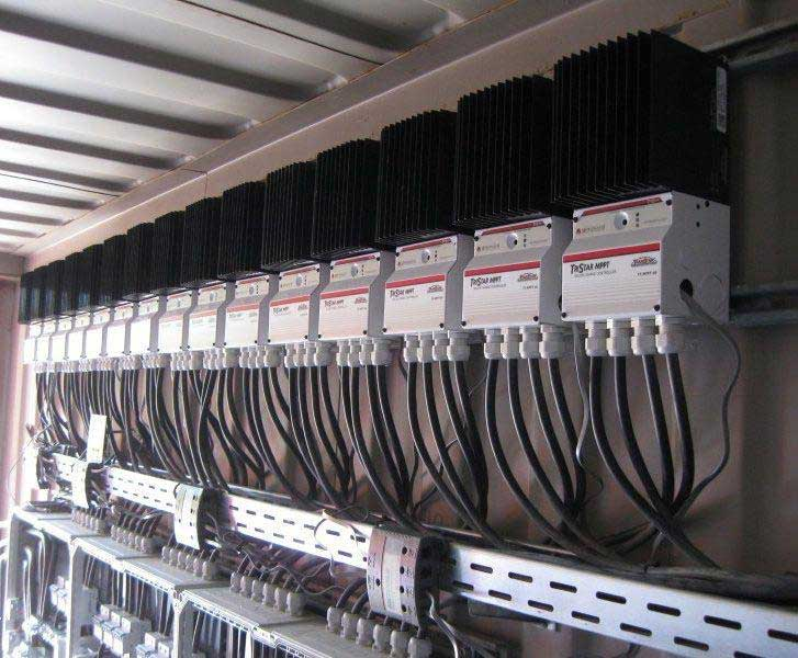 Parallel Charging Using Multiple Controllers With Separate PV Arrays