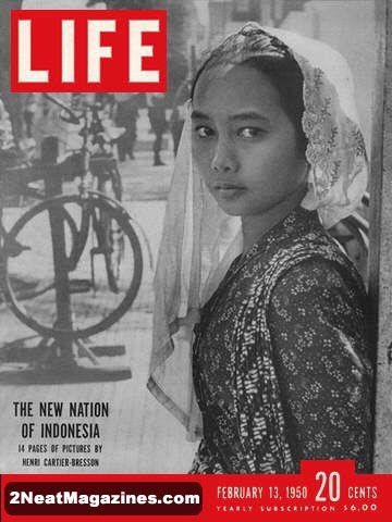 For Sale - Life Magazine February 13, 1950 - Indonesia ...