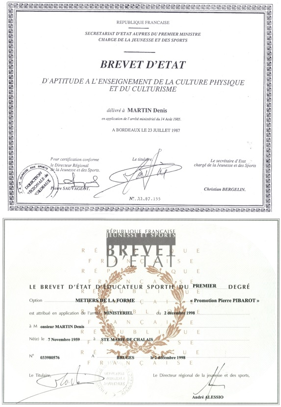 formations et diplomes cv structure