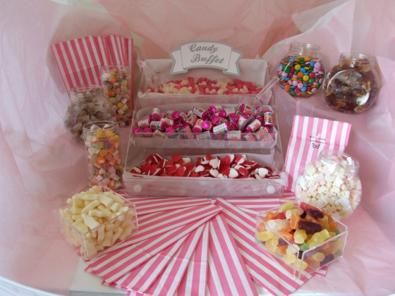 New Medium Candy Buffet You Choose Sweets 25 Free Sweet