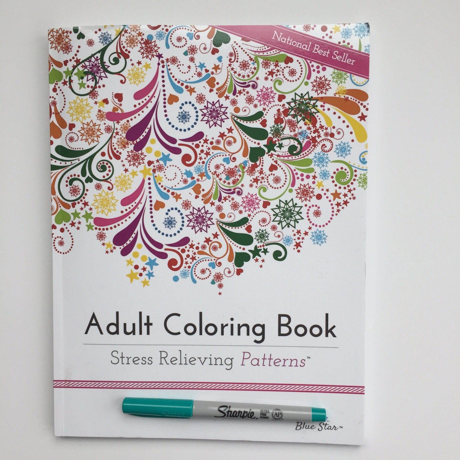Best grown up coloring books - Adult Coloring Book Stress Relieving Patterns Review