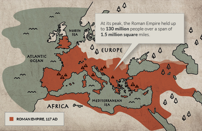 Animated Map 2,400 Years of European History