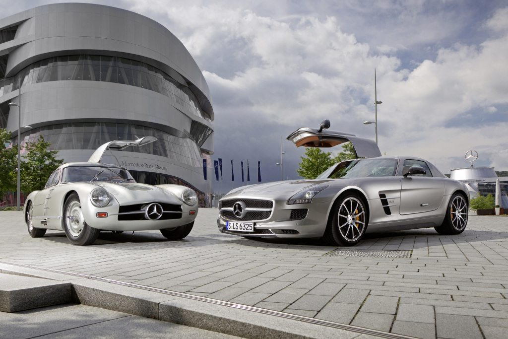 Fastest Car In The World Wallpaper Mercedes Benz Sls Amg A Look Back