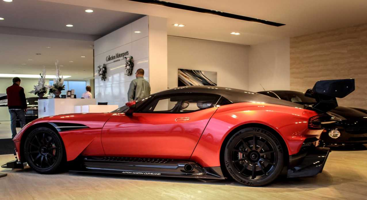 Vanquish Car Wallpaper First Aston Martin Vulcan For Sale In The United States