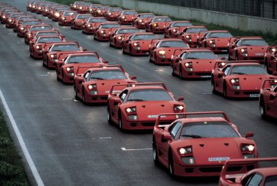 Ferrari F40 Celebrates 30th Birthday