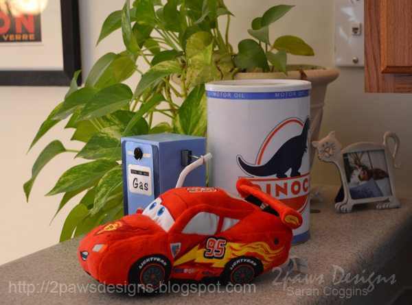 Cars Birthday Party Beverage Decor