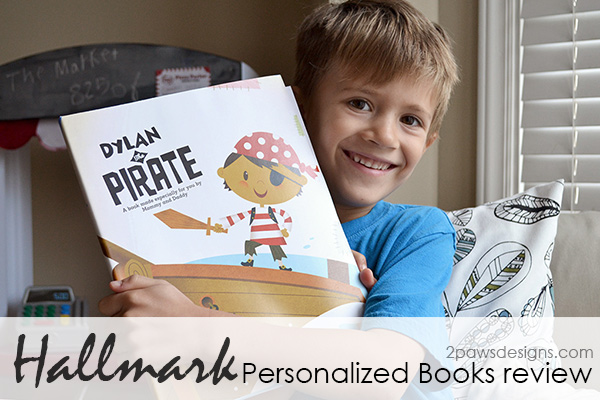 Hallmark Personalized Books Review | 2paws Designs