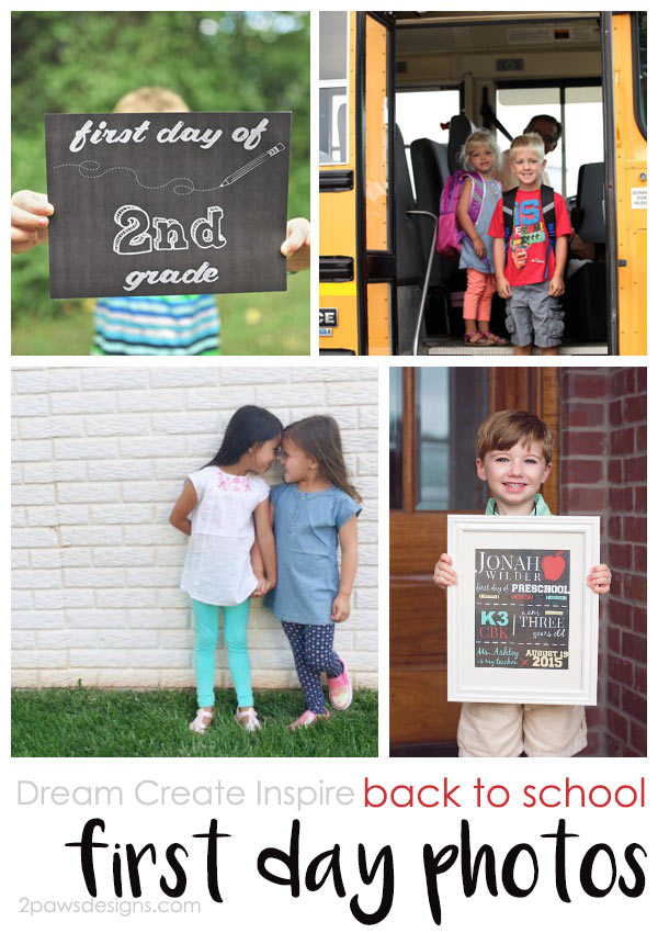 Dream Create Inspire: Back to School – First Day Photos
