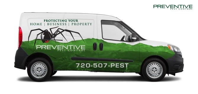 Van Wrap for Preventive Pest Control