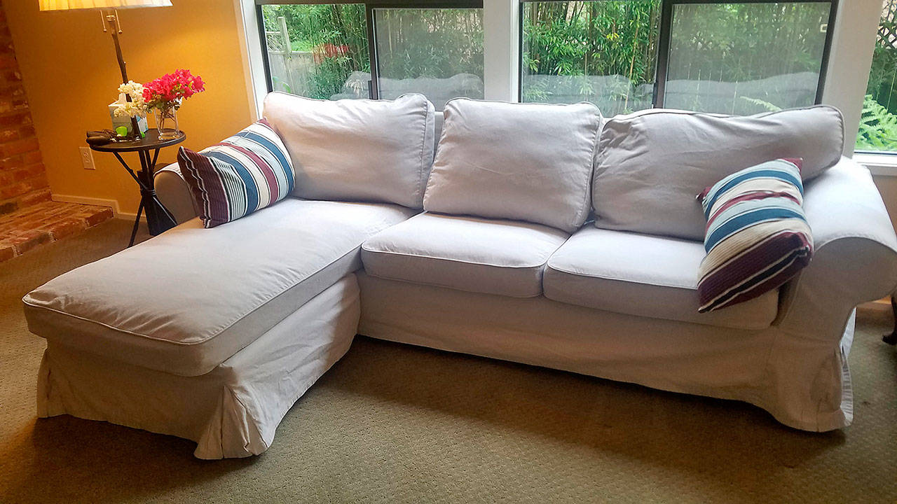Sofa Repair Seattle How An Ikea Couch Held Up For This Family Of Four Plus A Dog