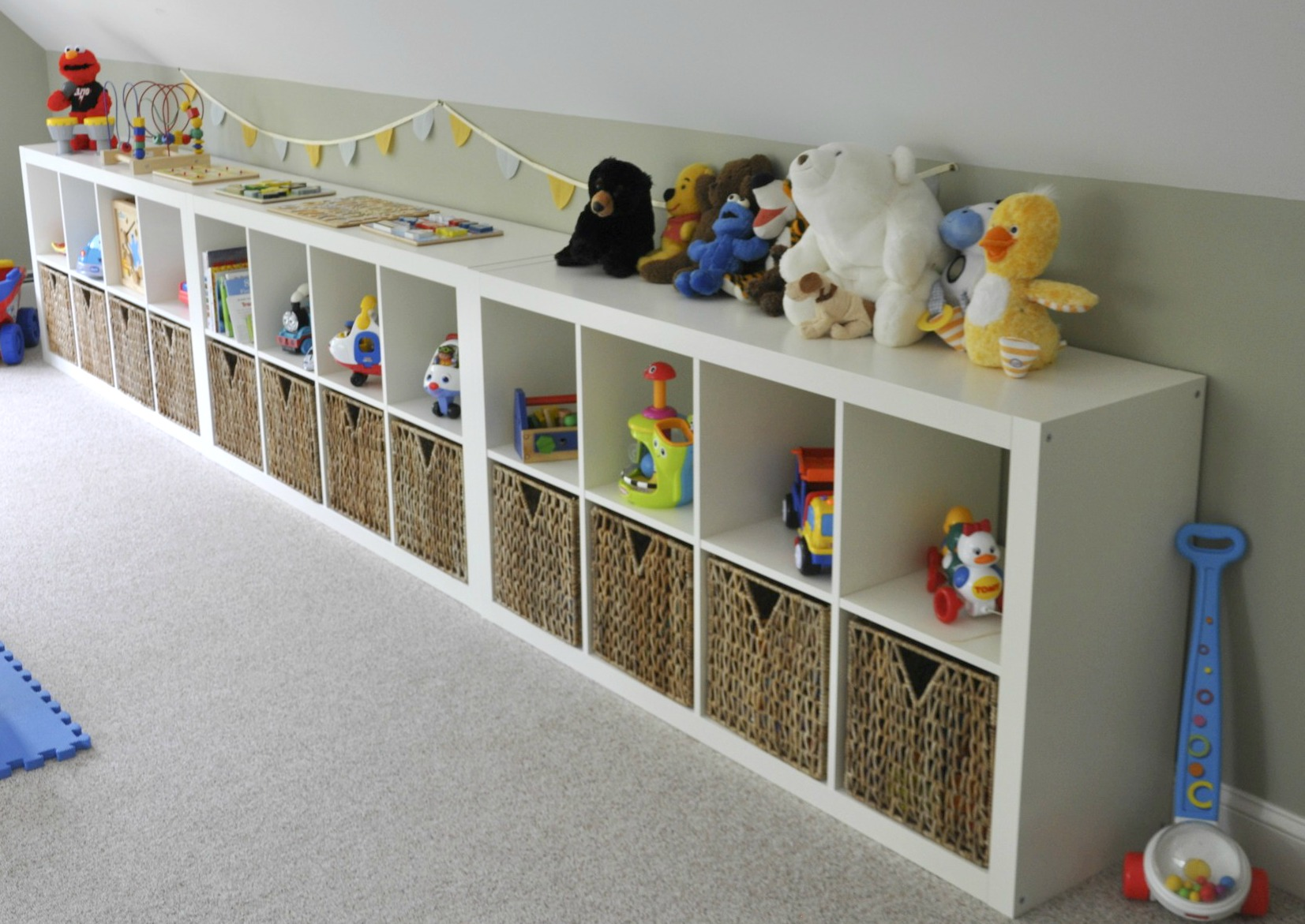 Ikea Kallax Kinder Ikea Expedit Playroom Storage 2 Sisters 2 Cities
