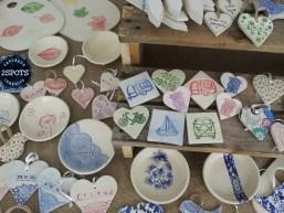 Pottery Fridge Magnets