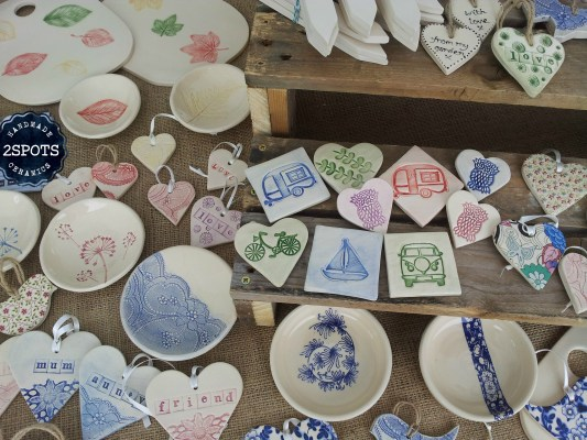 Pottery Fridge Magnets