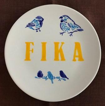 ladies night fika plate
