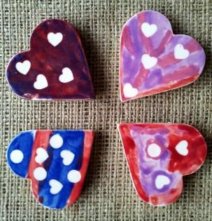 Painted Fridge Magnets