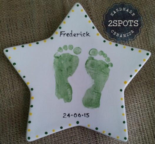 Footprint Star Plate