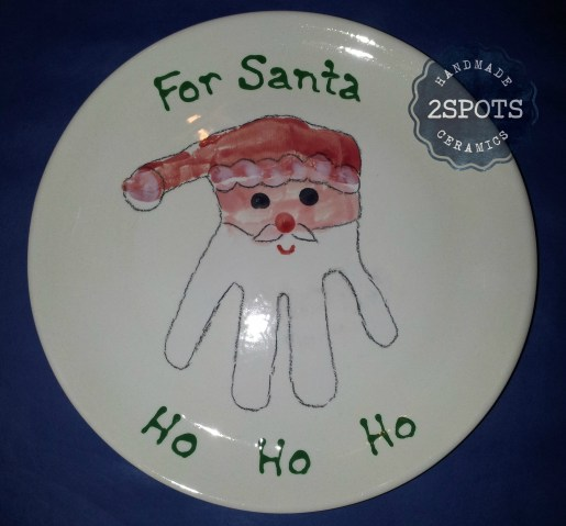 A Handy Santa Plate