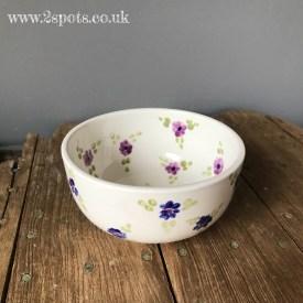 Blue Floral Bowl