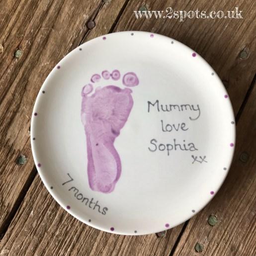 Mummy's plate