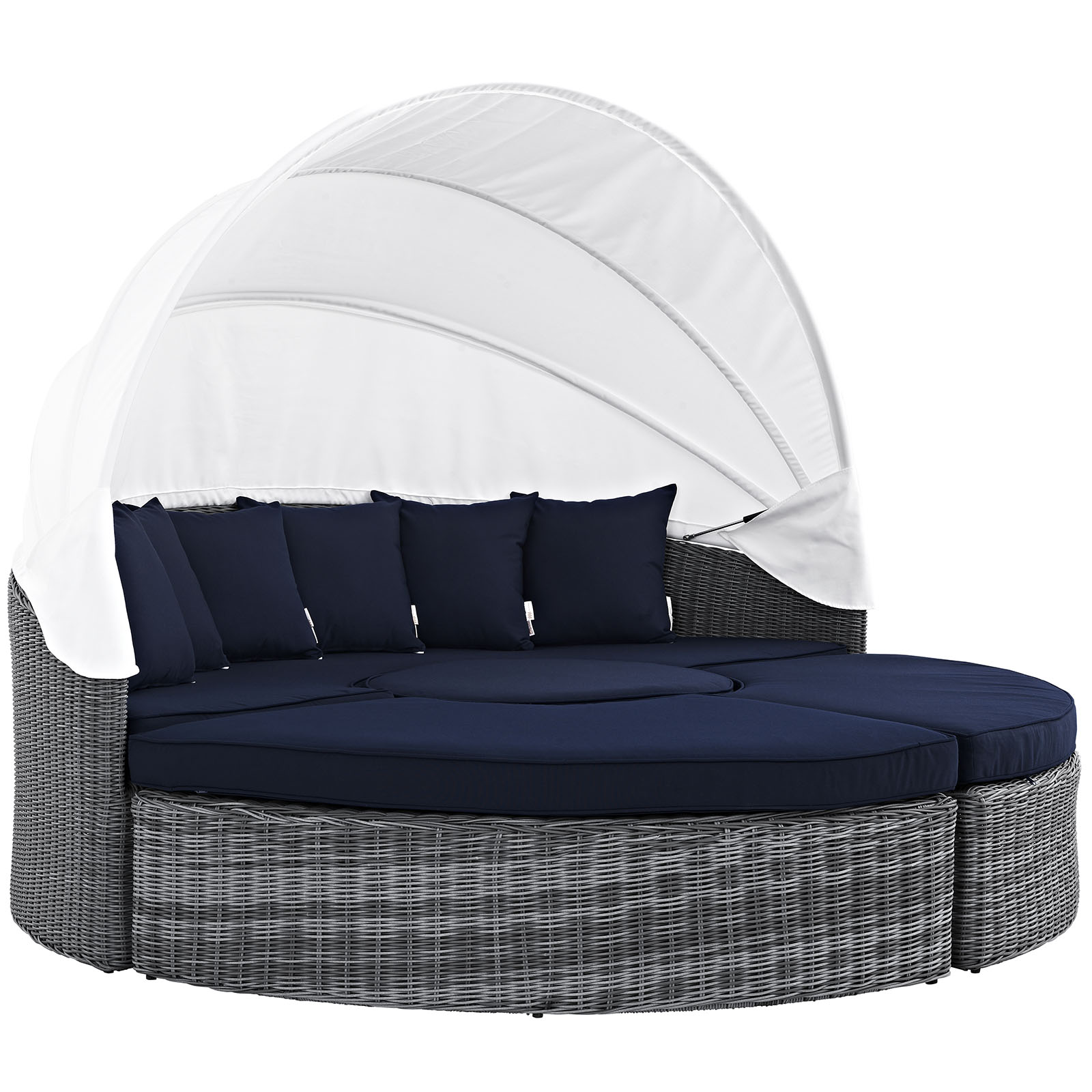 Outdoor Daybeds For Sale Summon Canopy Outdoor Patio Sunbrella Daybed In Canvas