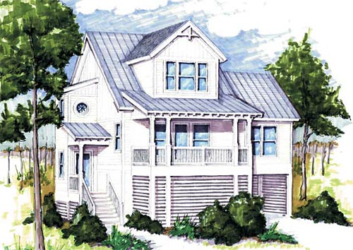 A Place In The Sun Coastal Home Plans