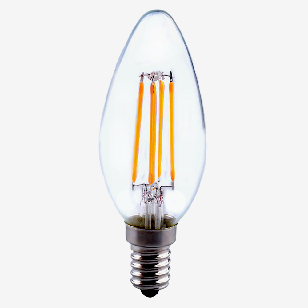 E14 Lamp E14 E27 2/4/6/8w Edison Retro Filament Cob Led Candle