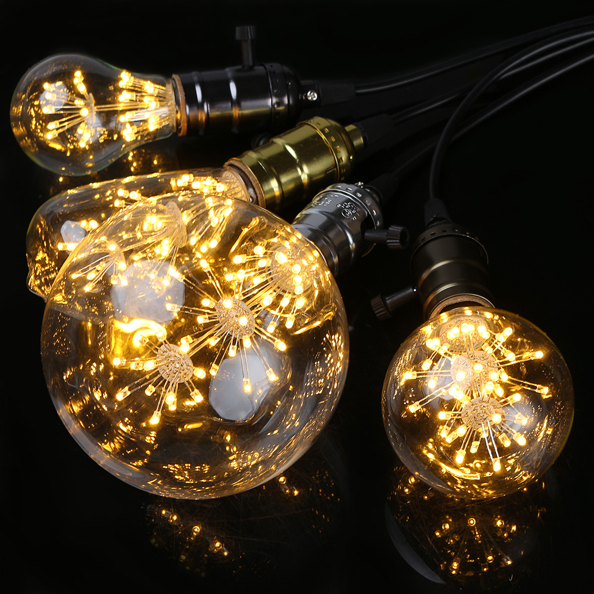 Retro Led E27 E27 3w Vintage Retro Style Edison Led Filament Decorative