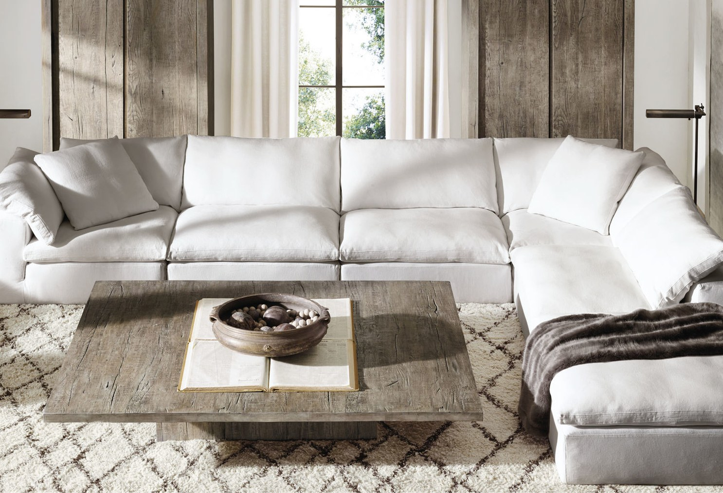 Rh Cloud Sofa The Cloud Collection Restoration Hardware Mile High Style
