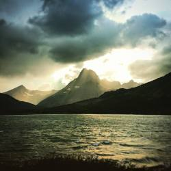Swiftcurrent Lake in Storm Glacier National Park 1