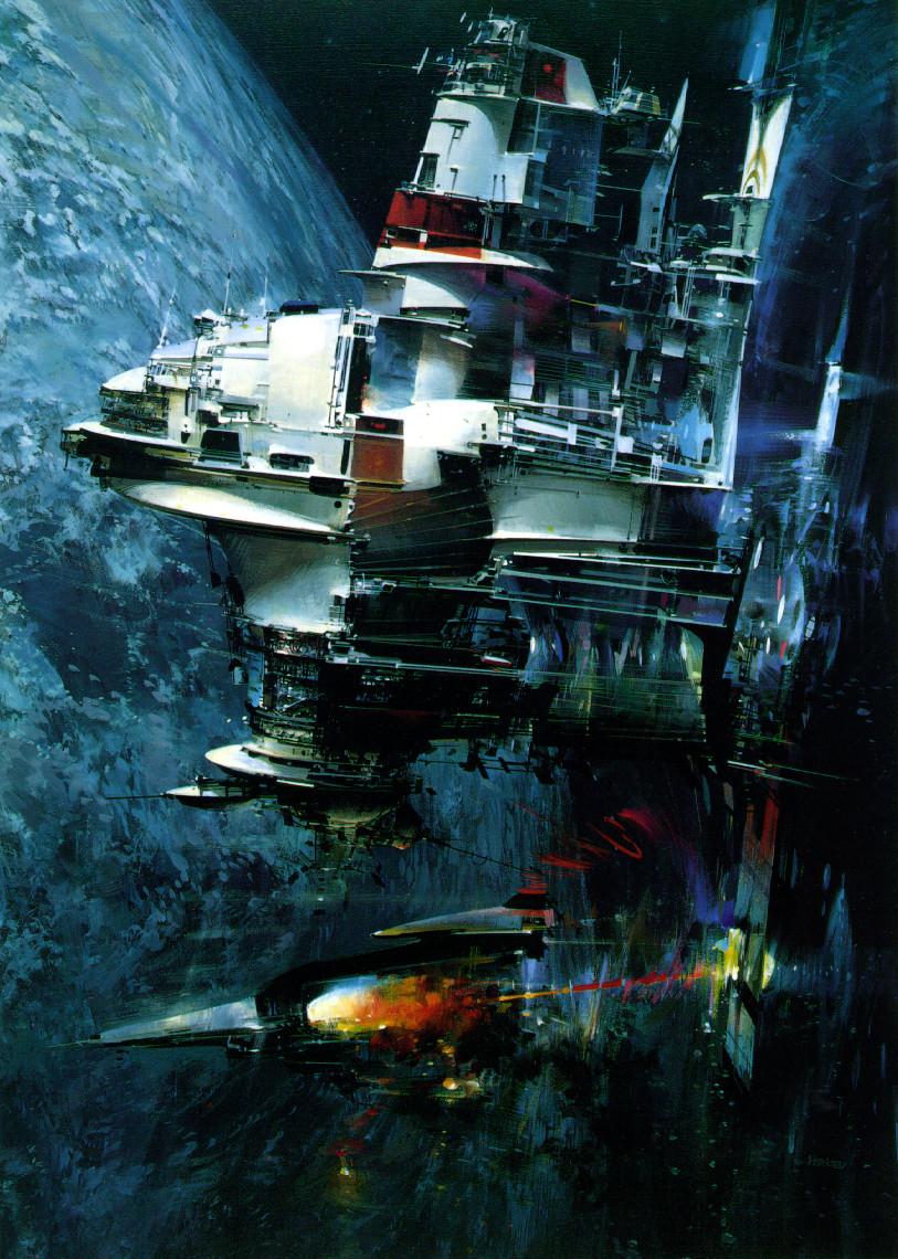 Dub Magazine Girls Wallpaper The Space Art Of John Berkey 2 Warps To Neptune