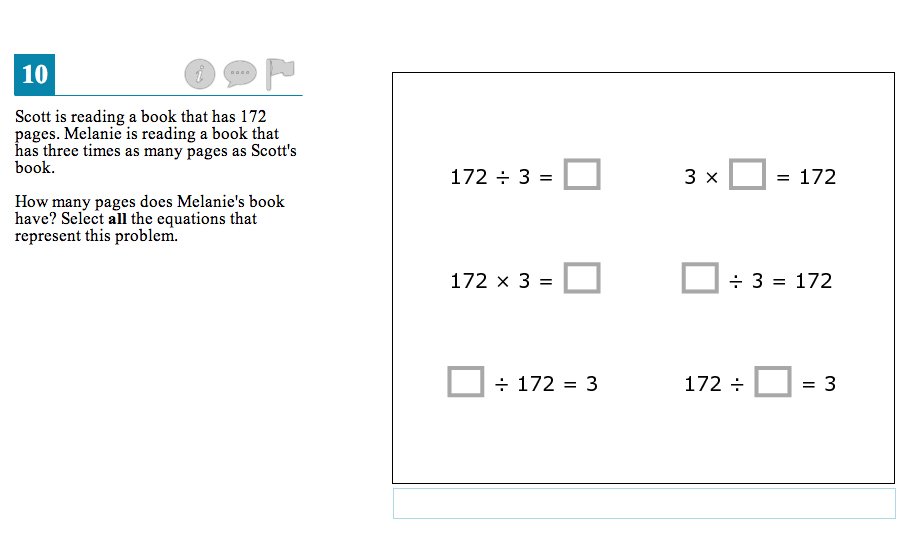 Test questions 4th-grade math American RadioWorks