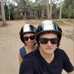 Scooter Rental Angkor Wat