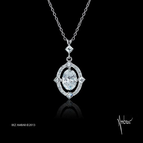 Medium Of Diamond Pendant Necklace