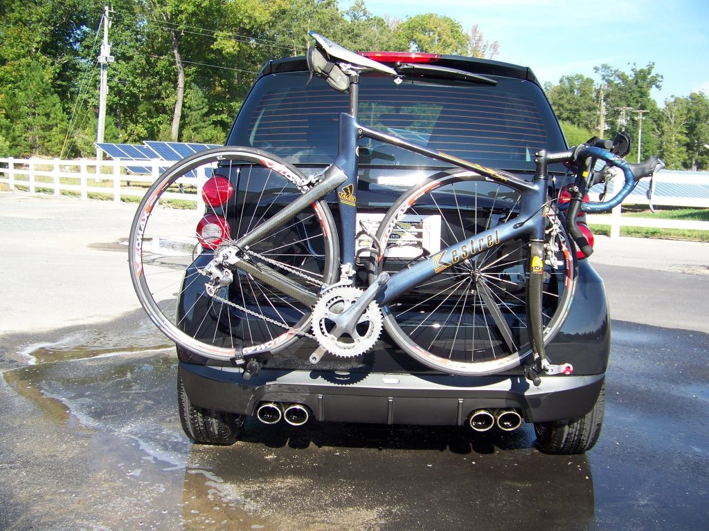 Smart Car Bicycle Rack Detachable Carrier 2x2 Cycles