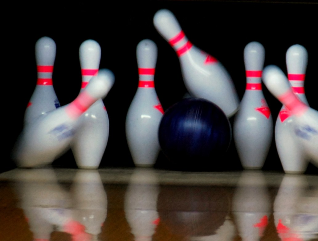 Just as in bowling, the headpin can cause all the pins to fall.