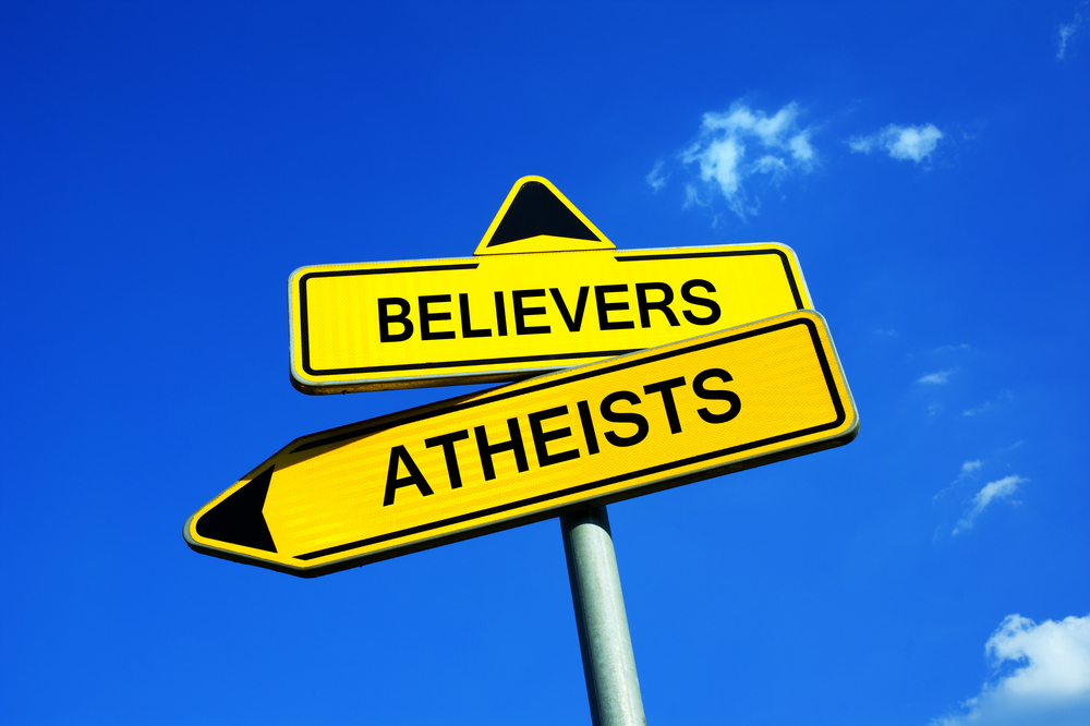 atheists believers