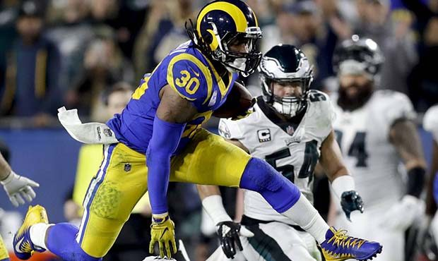 Rams RB Todd Gurley inactive; Cardinals CB Patrick Peterson in
