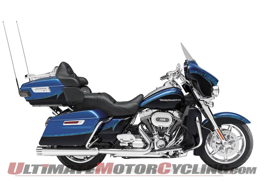 2014 Harley CVO Limited with Liquid-Cooled 110 Preview